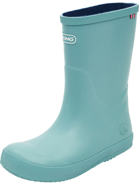 Viking Classic Indie Rubber Boots Kids Turquoise